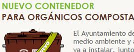 Web campaña contenedor marrón