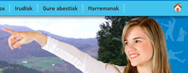 Web para Alkizako EGB